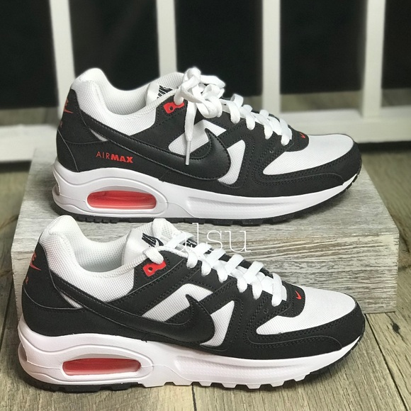 low priced 77aeb 96f1a Nike Air Max Command Flex GS White Black 🍊 W